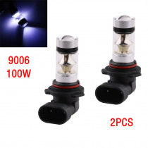 2PCS Car Light  9005 9006 H1 H3 H4 H7 H8/H11 LED Headlight Bulbs 100W Car DRL Fog Light Headl Lamp Bulb 2000LM 8000K LED Bulb