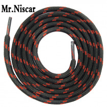 Mr.Niscar Cheap High Quality Round Shoelaces Athletic Sport Shoe Laces Point Striped Outdoor Climbing Shoelaces es Free Shipping