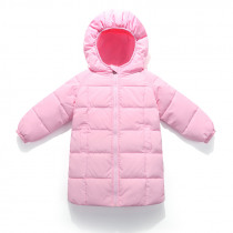 New Children 's Clothing Boys And Girls Winter Jacket In The Long Section Down Jacket Baby Infant Down Jacket Winter Coat Girl