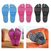 Invisible Non Slip Insole 1 Pair Flexible Soft Insoles Protection Shoes Shoe Accessories Feet Sticker Adhesive Foot Pad