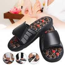 1 Pair Reflexology Sandals Foot Massager Slippers Acupressure Acupuncture Shoes