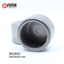 BK2820 Needle Bearings 28*35*20 mm ( 5 Pc ) Drawn Cup Needle Roller Bearing  BK283520 Caged Closed ONE End 65941/28