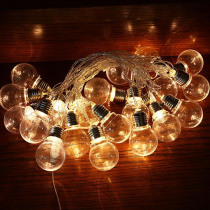 10/20 bulbs Outdoor Waterproof Solar LED String Lights Holiday Wedding Party Lamp String Courtyard Decorative Star Lamp