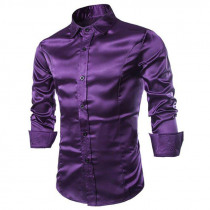 Men's Casual Shirts Long Sleeve Turndown Collar
