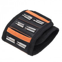 Magnetic Wristband w/ Strong Magnets Holds Screws Nails Bits Repair Hand Easy Carry Gadget