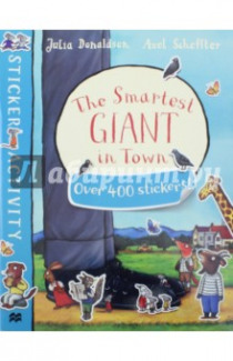 The Smartest Giant in Town. Sticker Activity Book