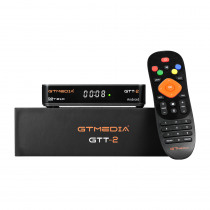 GTMEDIA GTT2 DVB-T2 DVB-C ISDB-T Satellite Receiver Cable Amlogic S905D 2GB 8GB Android 4K H.265 TV Box