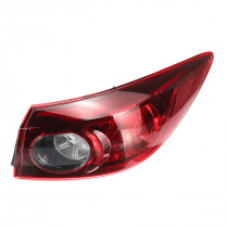 Car Rear Tail Light Brake Lamp Red Shell with No Bulb Right for Mazda 3 2014+