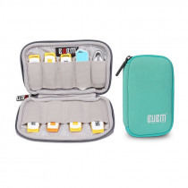 BUBM 6/9 USB Drive Shuttle Case Portable USB Flash Drives Storage Bag Carrying Case Holder Pouch Protection Travel Bag