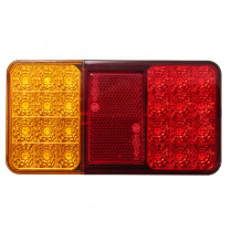12V 1.5W 24LED Car Rear Tail Light Brake Stop Indicator Lamp for Trailers Trucks Utes Boats Caravans
