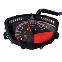 Motorcycle Modified Tachometer LCD Seven Color Backlight Adjustable Speedometer For Yamaha