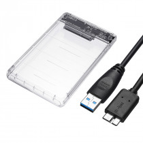 2.5inch 5Gbps USB 3.0 SATA Hard Disk Enclosure Case for 2.5inch HDD/SSD Hard Drive