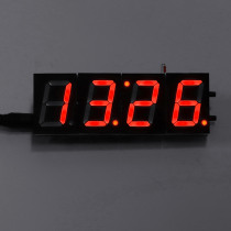 Geekcreit® 4 Digit LED Electronic Clock Temperature Light Control Version With Housing