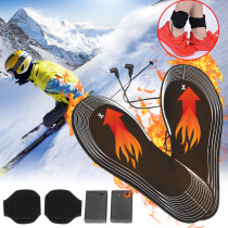 1 Pair 31x11cm Insoles Electric Battery Heated Insoles Feet Warmer Shoe Insole