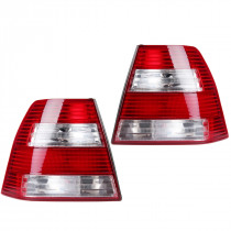 Pair Car Rear Tail Light Brake Lamp with no Bulbs for VW Jetta/Bora MK4 Sedan 1999-2005