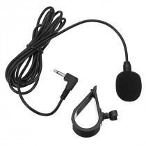 Car GPS Special Black Hands Free Clip on 3.5mm Mini Studio Speech Microphone
