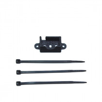 16x16mm 45 DegreE Mount Black for Transimittervs Camera Combo w/ 2-Mounting Holes Support VM2751 for RC Drone