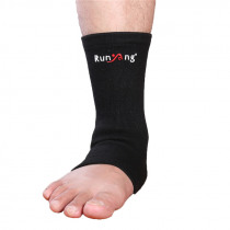 1 Pcs Elastic Ankle Support Foot Wrap Sleeve Bandage Brace Support Protection Sports Relief Pain