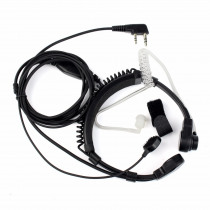 Retevis 2 Pin Throat Walkie Talkie Accessories Headset For Baofeng UV 5R Retevis H777 RT5R For Kenwood For TYT Two Way Radio C9026A