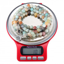 3kg/0.1g Mini Digital Jewelry Scale Round Shape