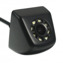 CCD HD Car Rear View Camera Waterproof 140 Degree Wide Angle 8 LED Night Vision Parking Reversing