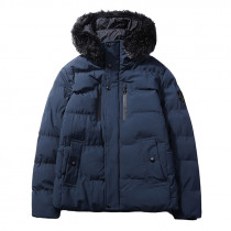 Mens Thick Warm Padded Jacket Winter Outerwear Parka