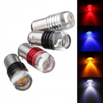 2Pcs 1157 BAY15D COB LED Car Tail Stop Brake Lights Side Marker Bulb Lamp DC 12V