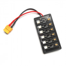 Battery Charging Board XT60 Plug for Blade Nano QX Tiny Whoop V911 JST-PH Parallel Connect Plate