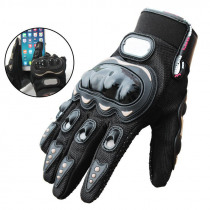 1 Pair Finger Glove Outdoor Running Hiking Camping Warm Gloves Windproof Touchscreen Anti-skid Mittens