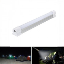 Portable USB Rechargeable Multi-function Camping Light 6 Mode Emergency Work Lamp with SOS Flashing