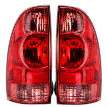 Car Rear Tail Light Assembly Brake Lamp with No Bulb Left/Right for Toyota Tacoma Pickup 2005-2015