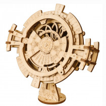 3D Self-Assembly Wooden Perpetual Calendar Mechanical Gears Building Kits Puzzle Building Model Gift