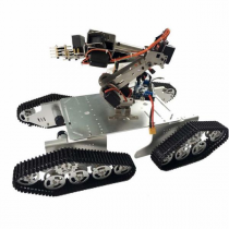 DoArm T900 Robot Tank Car Chassis with S7 Robot Arm Claw For Arduino