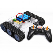 SN7500 DIY 2.4G Smart RC Robot Tank Car STEAM Educational Robot Kit