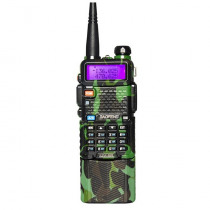 Upgrade BaoFeng UV-5R Camouflage Walkie Talkie VH/UHF Dual Band Two Way Radio Transceiver 3800mah