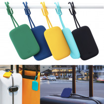 90FUN Colorful Silicone Baggage Tag Portable Suitcase Luggage Tag Anti-lost Label Outdoor Travel from Xiaomi Youpin