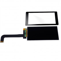 5.5 inch 2K 2560x1440 LS055R1SX03 LCD Screen Display Module + Protective Toughened Glass Film For SLA 3D Printer / VR