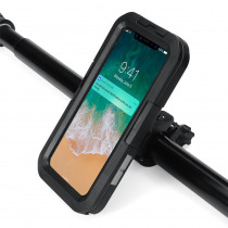 IPX8 Underwater Waterproof Case Motorcycle Bicycle Phone Holder For iPhone XS Max