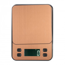 LCD Display Electronic Scale High Precision 10kg/0.1g Food Scale Stainless Steel Weighing Equipment