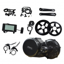 Bafang BBS01B 36V 250W Brushless Motor Central Motor DIY Electric Bike Modifition Kits with Built-in Controller Variable Speed