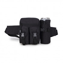600D Nylon Outdoor Tactical Bag Waist Bag Molle Pouch Water Bottle Holder Waterproof Military Bag