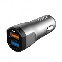 Car Charger 2.0 Dual Port Power Adapter