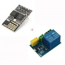 ESP8266 ESP-01S Remote Serial Port WIFI Transceiver Wireless Module + Relay Module WiFi Smart Remote Switch Phone APP For Arduino