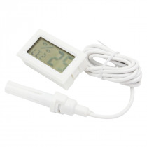 Mini Digital Thermometer Hygrometer Humidity LCD Monitor Probe for Egg Incubator