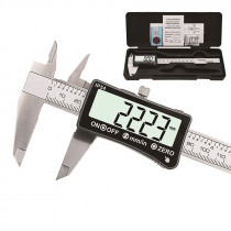150mm Stainless Steel Digital Caliper IP54 Coolant Proof Digital Caliper Full-screen LCD Display