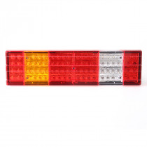 Pair 24V LED Car Rear Tail Light Truck Lorry Trailer Reverse Turn Lamp Indicator