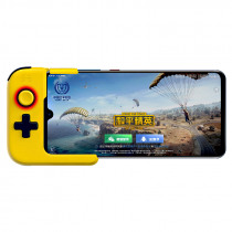 Betop G1 bluetooth 5.0 Wireless Single Hand Gamepad Controller for iPhone Huawei Xiaomi Mobile Phone for PUBG Game Blue Yellow