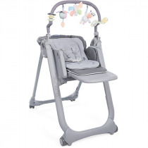 Стульчик Chicco Polly Magic Relax, graphite